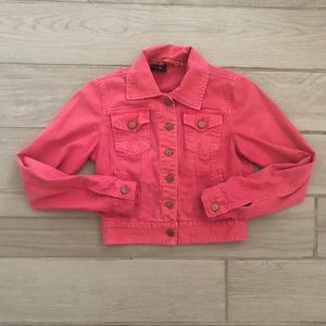 BDG. Pink denim jean jacket only in EUC!